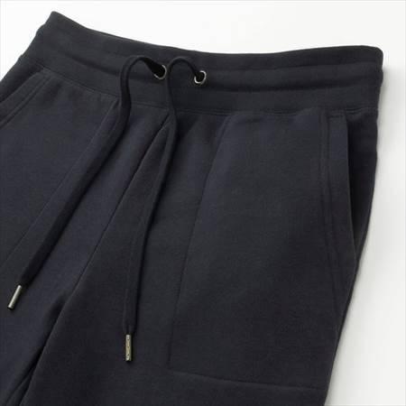 ユニクロのレディースのスウェットパンツ(丈標準68~68.5cm)のウエストのヒモとサイドポケット部分