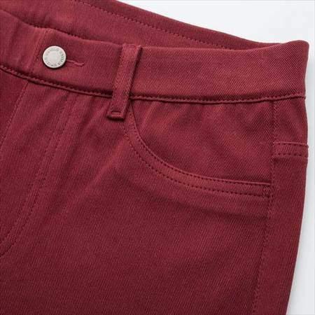 ユニクロのレディースのレギンスパンツ(丈標準71~73cm)のサイドポケット部分