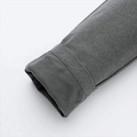 ユニクロの防風ウォームイージーパンツ(丈標準71~73cm)の裏地のフリース